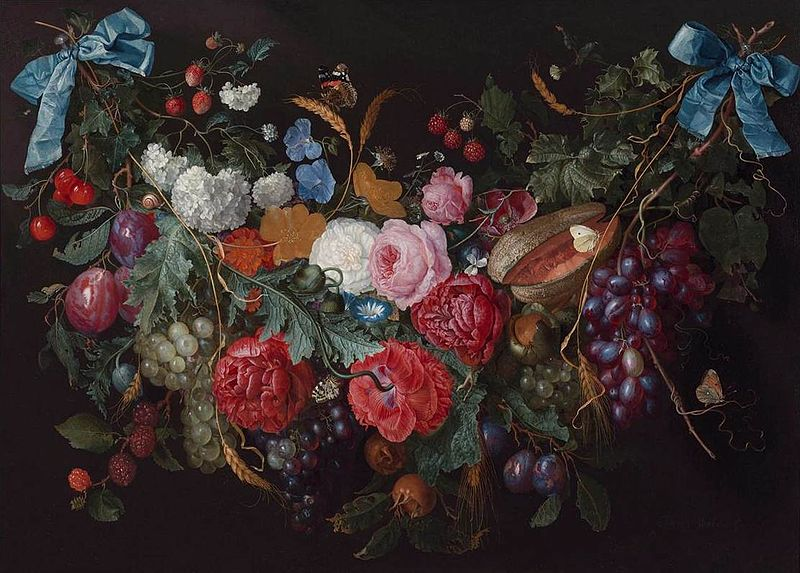 800px-Jacob_van_Walscapelle_-_A_Swag_of_Flowers_-_WGA25434